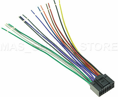 wire harness for jvc kdlx111 kdlx111 pay today ships today  ebay