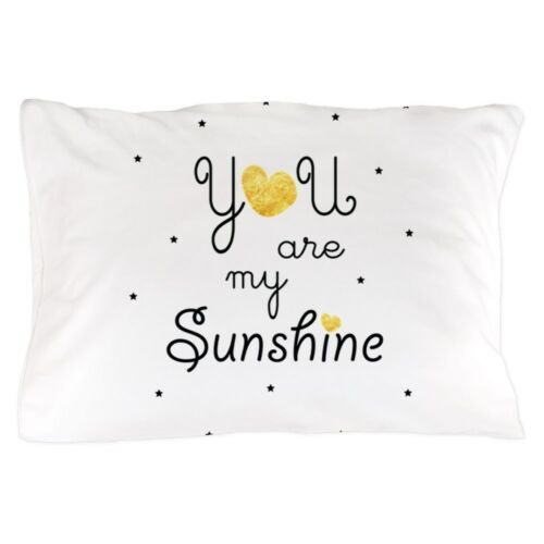 1660869617 cafepress you are my sunshine gold pillow case sheets bedding