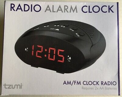 Tzumi Am Fm Radio Alarm Clock Brand New Sealed Am Fm Radio Alarm Clock Ebay