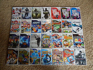 Nintendo Wii Games  You Choose from Large Selection   5 95 Each     Image is loading Nintendo Wii Games You Choose from Large Selection
