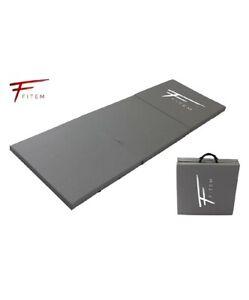 details sur fitem tapis de sol pliable epais sport fitness gymnastique yoga musculation