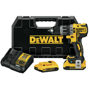 DEWALT DCD797D2R 20V MAX XR Tool Connect Hammer Drill Kit Certified Refurbished