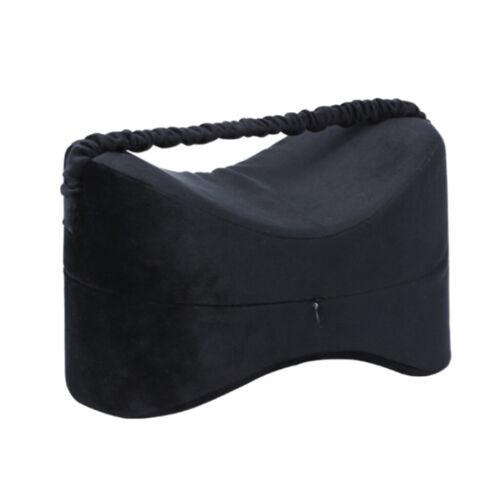 contour wedge leg pillow knee bolster cushion for back hip legs memory foam