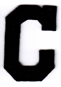 LETTERS   BLACK BLOCK LETTER  C   1 7 8     Iron On Embroidered     Image is loading LETTERS BLACK BLOCK LETTER 034 C 034 1