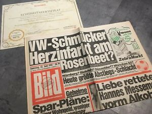 Bildzeitung 13 06 1959 Juni 13 6 1959 Geschenk 60 61 62 63 64