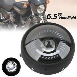 Motorcycle Round Hi Lo Headlight