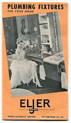 1950s sales brochure eljer bathroom tubs sinks toilets brass faucets ebay