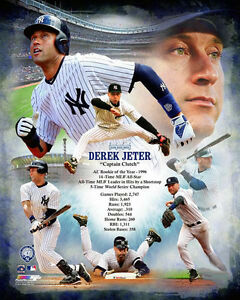 details about derek jeter captain clutch yankees career commemoration premium poster print