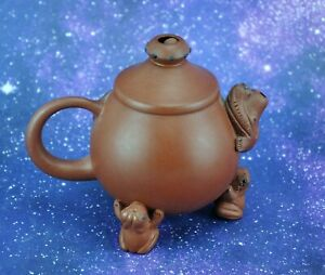 Vintage Chinese China Yixing Teapot Pottery Terracotta /3 (BI#MK/200310)