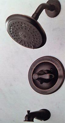 delta porter oil rubbed bronze 3 spray 1 handle tub shower faucet 144984 ob ebay