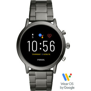 Fossil Gen 5 Carlyle HR Heart Rate StainlessSteel Touchscreen Smartwatch FTW4024