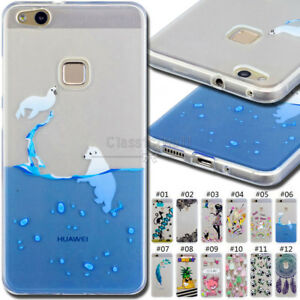 Details About For Huawei P10 Lite Rubber Tpu Skin Silicone Soft Case Cover Protective Gel Back