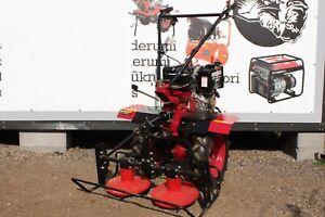 Motoculteur Motobineuse Cultivateur 10cv Diesel Tondeuse Charrues Ebay