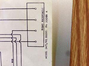 Jenn Air Cooktop Model 88891 Wiring Diagram ONLY | eBay