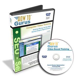Search Engine Optimization Web Design Marketing SEO Training 8 hrs DVD
