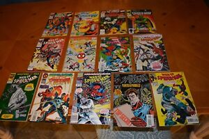 VINTAGE SPIDER-MAN COMIC BOOK'S GREAT FOR READING BY YOU & YOUR CHILDREN LOT F
