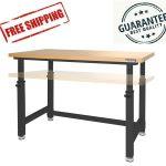 Foldable Heavy Duty Work Bench Garage Workshop Tool Workbench Fervi B019 For Sale Online Ebay