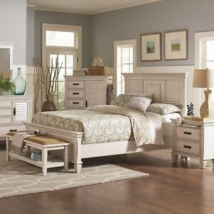 details about coaster fine furniture franco queen 6 piece bedroom set antique white