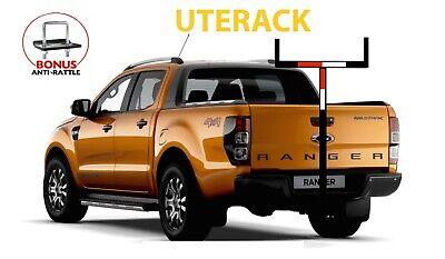 ford ranger wildtrak ladder rack roof rack ford xlt rack bonus anti rattle ebay