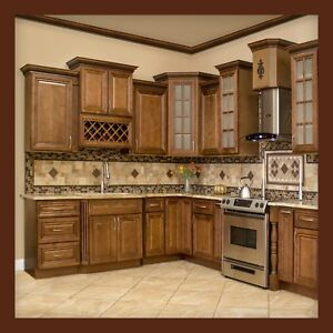 Image Is Loading 10x10 All Solid Wood Kitchen Cabinets Geneva Rta