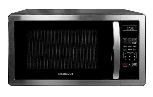 farberware microwave oven classic 1 1 cubic foot 1000 watt