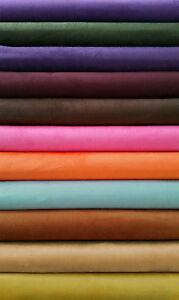 details sur tissu suedine imitation daim simili cuir 150cm de large prix au metre