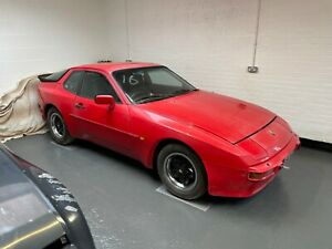 1982 Porsche 944 2.5 2dr, Red, PROJECT, Only 51k miles