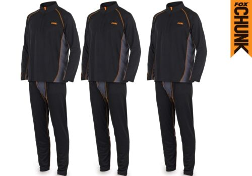 Fox-NEW-Chunk-Base-Layer-Thermal-Undersuit-Set-Carp-Fishing-Clothing-All-Sizes