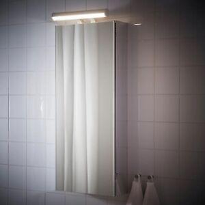 Royaume Uni Ikea Ostana Armoire Avec Miroir Lumineux Filaire Del 602 285 14 Armoire Murale Eclairage Ebay