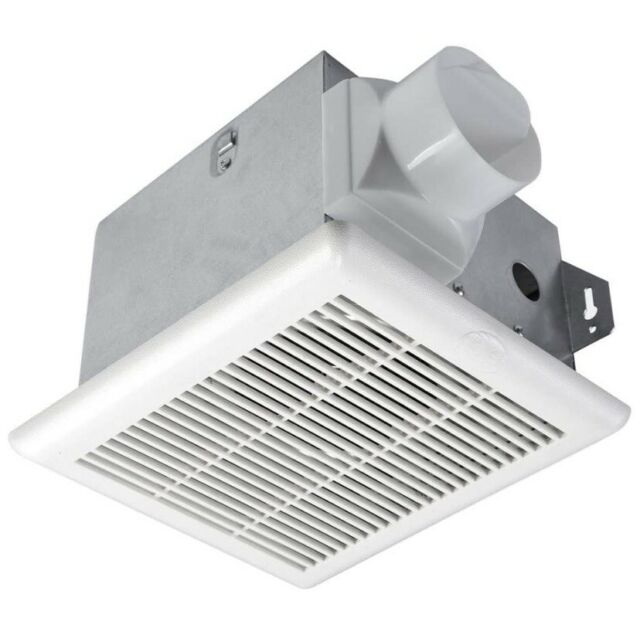 hampton bay 70 cfm bathroom vent fan no cut wall ceiling mount exhaust bath fan