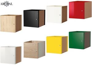 Details About Ikea Kallax Insert With Door Various Colours 33 X 33 Cm