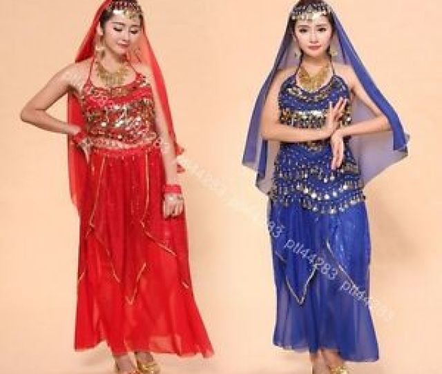 Image Is Loading Sexy Arabic Belly Dancer Costumes Top Hip Scarf