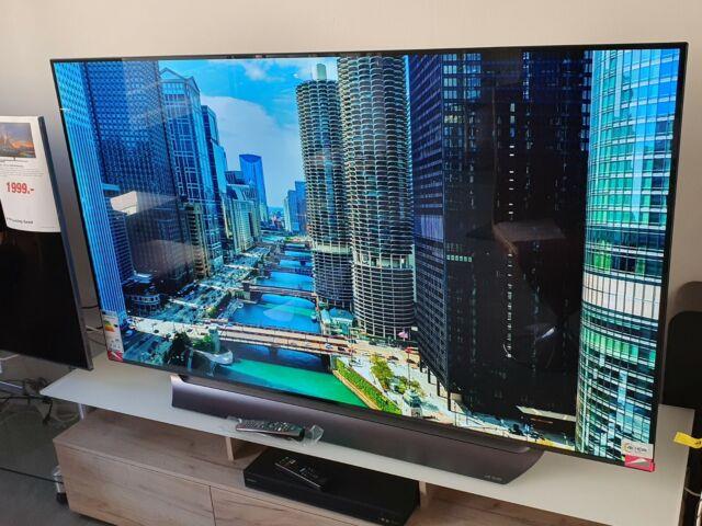 Lg Oled Tv Oled65 C8 Lla Aeu Gunstig Kaufen Ebay