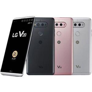 "LG V20 H990N 64GB Dual Sim (FACTORY UNLOCKED) 5.7"" 4GB RAM - Titan Pink silver"