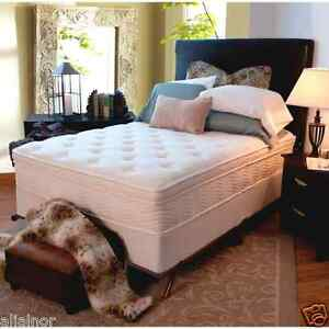 Image Is Loading New 13 034 Euro Top Spring Mattress Amp
