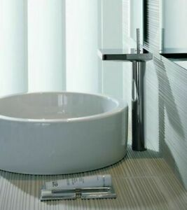 details about hansgrohe axor starck x series 10071001 single hole 8 vessel bathroom faucet