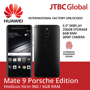 "New Huawei Mate 9 Porsche Design LON-L29 (Factory Unlocked) 5.5"" Luxury Edition"