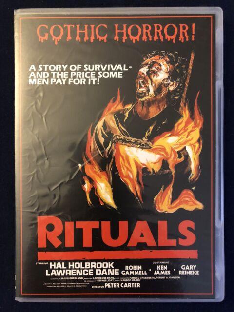 RITUALS (1977) aka Creeper DVD! HAL HOLBROOK SCARY ...
