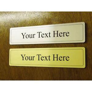 personnalise porte signe metallique plaque bureau mur de