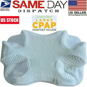 details about cpap pillow contour memory foam side sleeper pillow for head neck back support