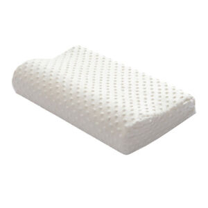 details about memory foam contour extra firm pillow for cervical nec bed orthopedic pillow
