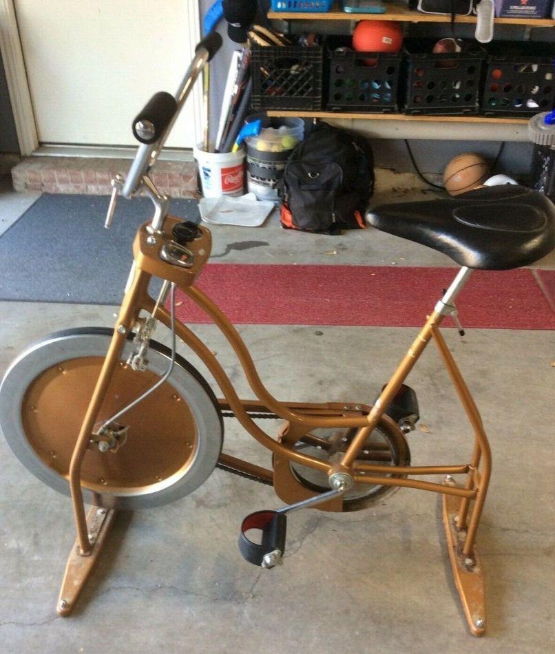 Vintage Schwinn Upright Exercise Bike