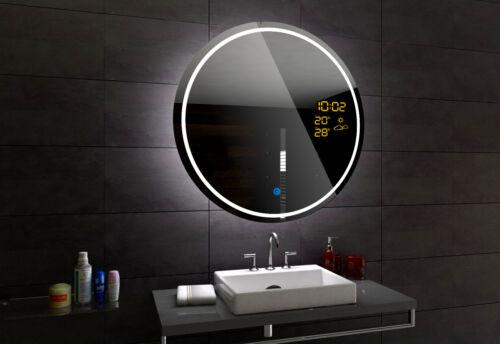 Badzubehor Textilien London Miroir Salle De Bain Lumineux Ledinterrupteur Accessoires Miroir Rond Mobel Wohnen Raizlatina Com Br