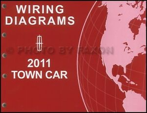 2011 Lincoln Town Car Wiring Diagram Manual Original
