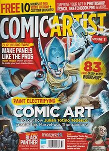 IMAGINE FX MAGAZINE PRESENTS COMIC ARTIST Vol.3 2016, MAKE PANELS LIKE PROS.
