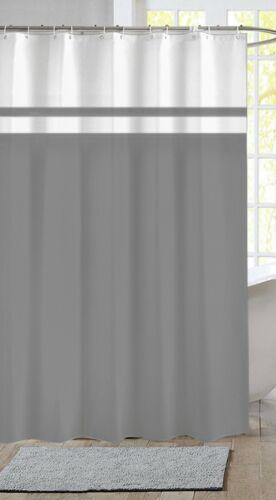 bath extra long polyester fabric shower curtain 180 x 200cm long length rio grey shower bath accessories