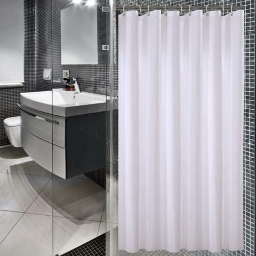 sfoothome small size 36 inch wide x 78inch long hotel fabric shower shower curtains home garden worldenergy ae