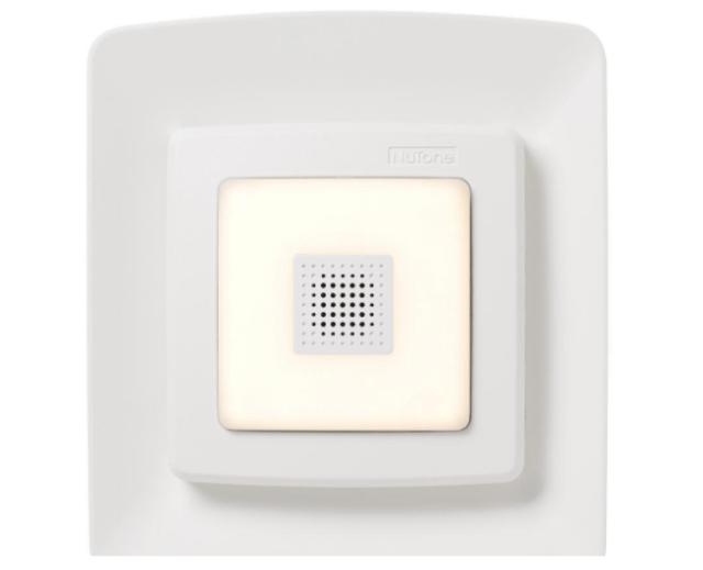 broan nutone bathroom exhaust fan grille cover led light bluetooth speaker white