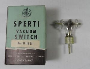 Collins ART-13 NEW Original Sperti CYS 24163 / SP IS-21 HV Vacuum Switch