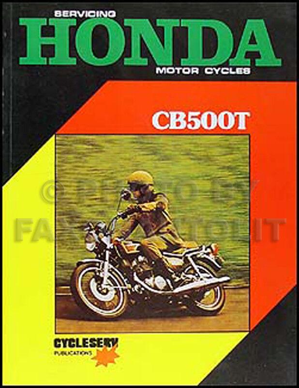 1975 1976 Honda Cb500t Manual